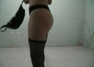 Sexy bitch in stockings bangs like a professional